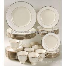 Sistema de cena respetuoso del medio ambiente durable de la cena de China del hueso 32pcs en alibaba