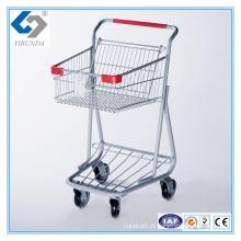 Carrinhos de compras de cesta simples de venda quente com bom design