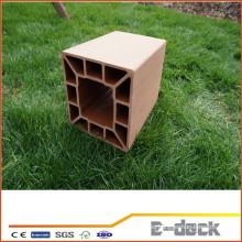 Postes de madera compuestos estables de la madera de la alta calidad de la cerca para la venta