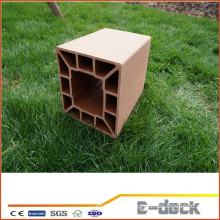 High quality stable wood plastic composite fence posts for sale