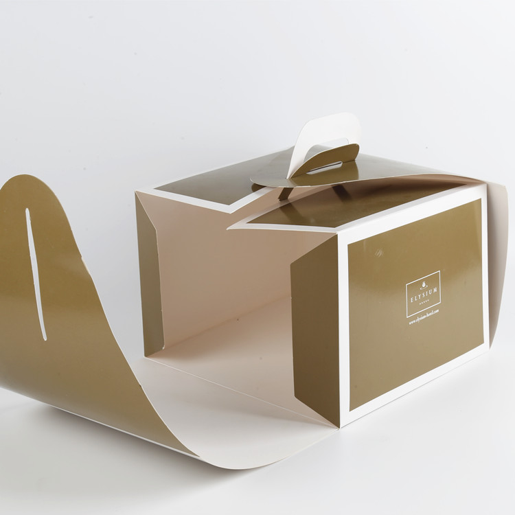 Birthday Cake Box Packaging