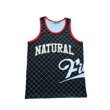 Quick Drying Sports Wear Basketball Jersey Training Jersey with Logo Printed (TT5011)