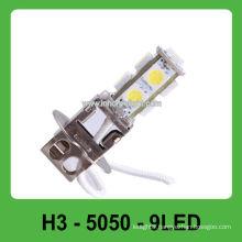 12V fog lamp 9 SMD H3 auto headlight