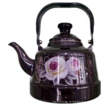 Küchenutensilien, Emaille Teekanne, Emaillierte Kessel, Keramik Namel Wasserkocher