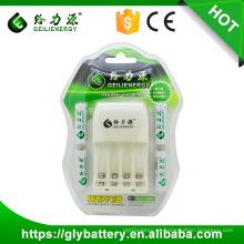 Geilienergy NI-CD NI-NM AA AAA 2.4V LED Cargador de batería