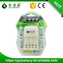 Geilienergy NI-CD Ni-NM AA AAA Carregador de Bateria LED 2.4V