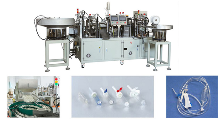 Drip Chamber Assembly Machine