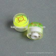 20 x 16,5 mm mini bolhas de nível de bolha redonda