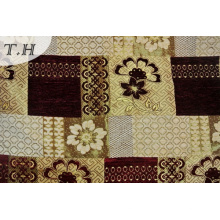 2016 Splicing Patterns of Chenille Jacquard Sofa Cloth