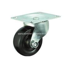 Black Rubber Swivel Caster Wheels for Furnitures