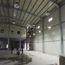 light steel frame prefab warehouse barn building industrial