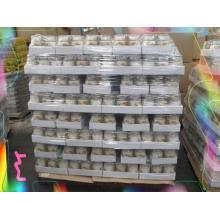18oz Glass Candle White Color Tray Pack