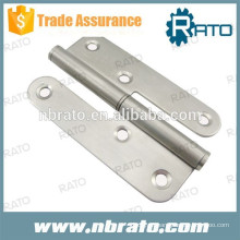 RH-113 dobradiça em forma de H de aço inoxidável de 4 polegadas