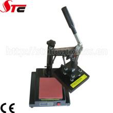 Pequeña impresora manual de la transferencia de calor de la etiqueta de 15X15cm (STC-TB01)