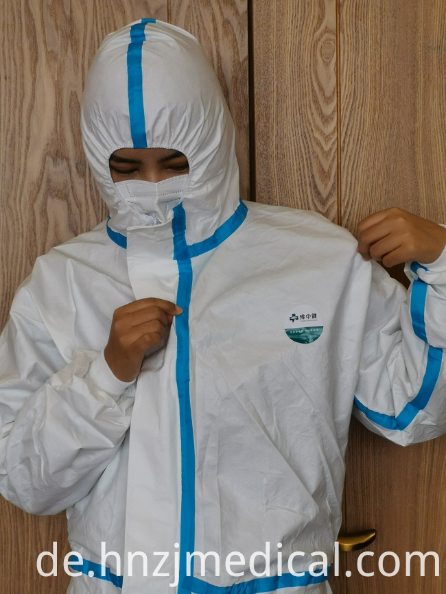 Disposable Safety Protective Isolation Clothing