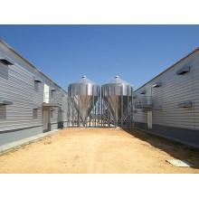 Prefab Galvanized Steel Frame Barn for Chicken Growing