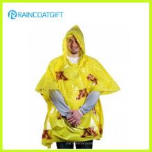 All Over Imprint Carnival PE Disposable Raincoat Rbc-166