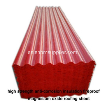 MGO Roofing Sheet Mejor UPVC Roofing Sheet