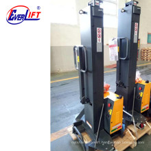 500kg 800mm 1300mm Portable Self-Loading Forklift Self Lift Stacker