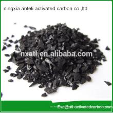 carbón activado de cáscara de nuez para el tratamiento de aguas