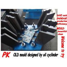 ПВХ складные пластиковые трубы прессформы/прессформы