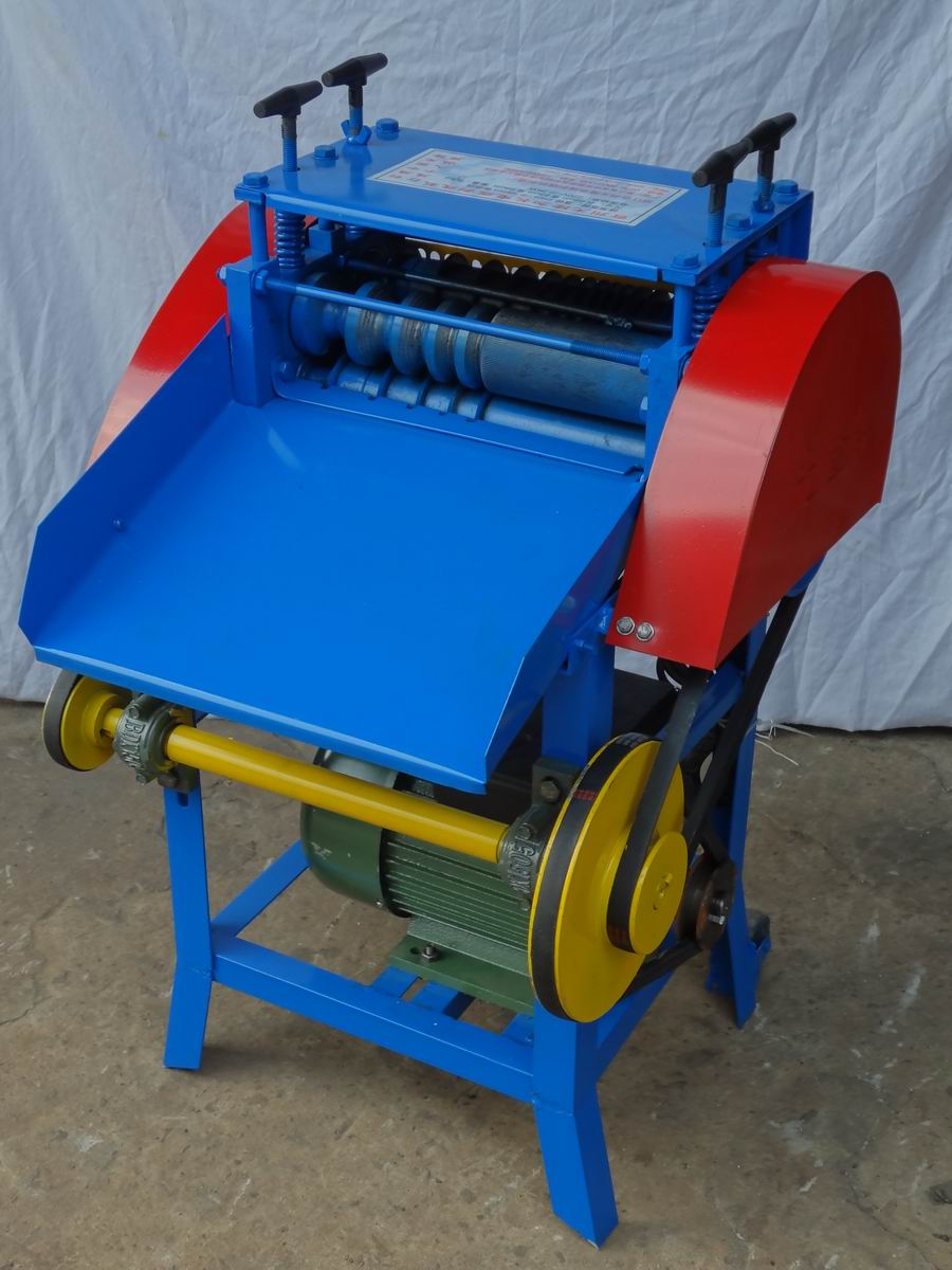 electric wire stripping machine