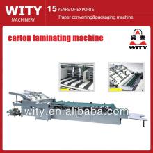 Máquina de laminación de cartón