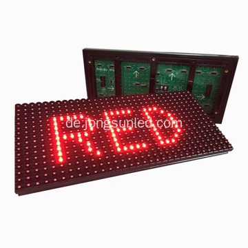 P10 Single Red Color LED-Anzeigemodul