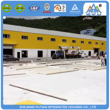 Different color prefab factory steel structure prefabricated building