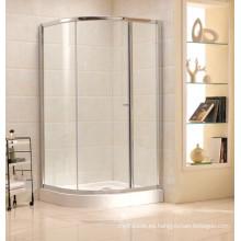 Fabricante superior Vidrio templado Sitio de ducha simple (B17)