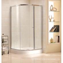 Top Fabricante de vidro temperado simples chuveiro (B17)