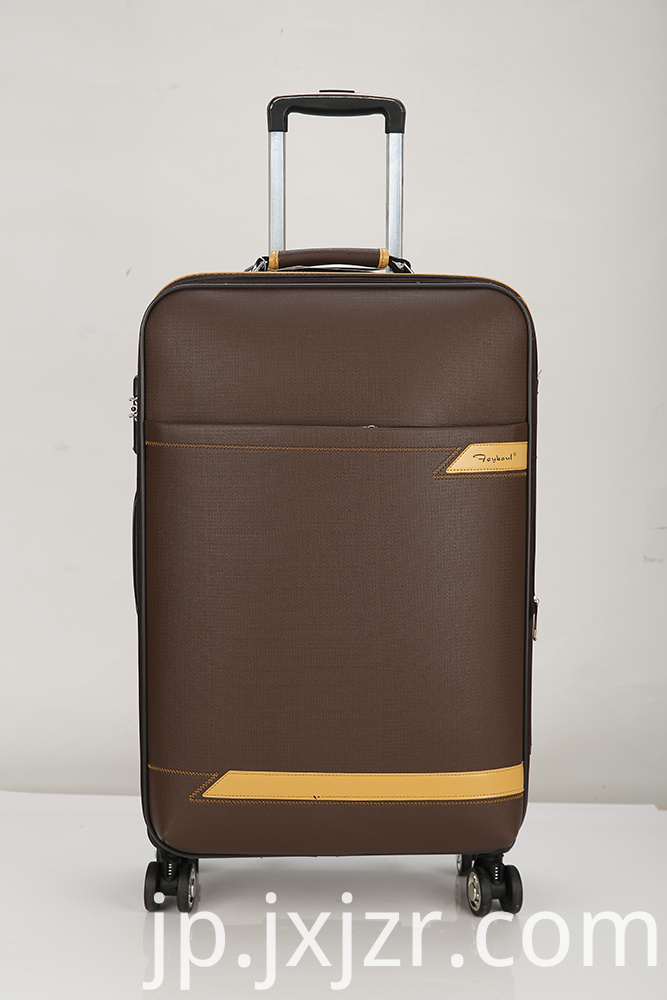 Fashionable Brown Luggage Cart