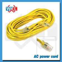 Canadá Cable de alimentación de servicio pesado con UL