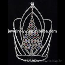 Tiara y Crowns al por mayor cristalinas del árbol de Christmaslarge alto