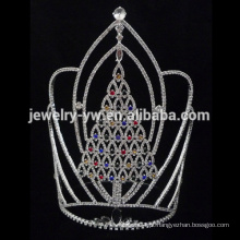 Atacado Cristal Christmaslarge alto árvore Tiara e coroas