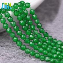 Günstige Schmuck Edelstein Perlen, facettierte runde natürliche Edelstein Perlen