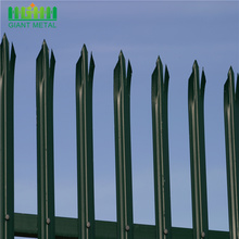 2.4m Galvanized and powder coated Australia Palisade Fencing