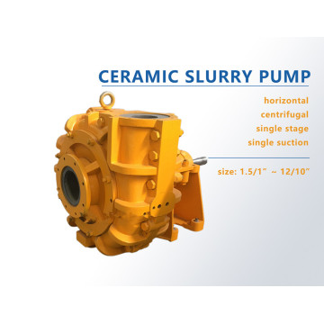 Sic Ceramic Heavy Duty Slurry Pump