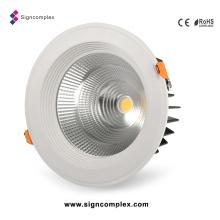 8W / 16W / 25W / 30W / 35W 5730SMD COB LED abajo luz regulable
