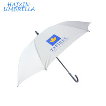 Gift Items for 2018 Popular DIY Painting Personal Parasol Sun Protect Travel Sport Promotion White Umbrella Custom Print Logo