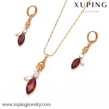 62255- Xuping Trendy jewelry sets jewelry fashion latest
