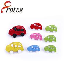 Diversos colores de la forma del coche para el botón de los niños