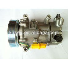 Auto air conditioning compressor for 6V12 Peugeot C2