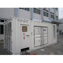 Conjunto generador de energía diesel silencioso CUMMINS 1250 kVA