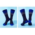 Business modal sock for men-blue 5