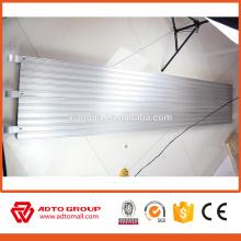 Los EEUU andamio estándar 7 'X19.25' 'plank de aluminio usado para la construcción