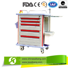CE aprovado ABS Hospital Movable Trolley