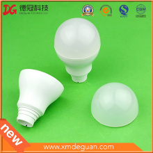 Personalizada Lámpara LED PC Bulbo Cubierta Componente de plástico