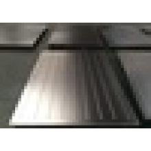 Edelstahl-Pressplatte / Texturplatten