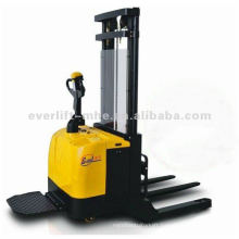 Straddle Electric Stacker Wide leg powered stacker, wide leg electric stack Straddle leg electric stacker warehouse equipment